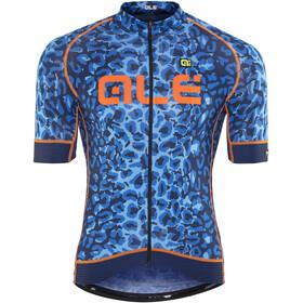 Alé Cycling Graphics PRR Agguato Kortärmad cykeltröja Herr blå/svart
